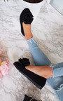 Robyn Floral Bow Flat Sandal Thumbnail