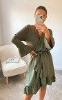 Robyn Wrap Mini Dress Thumbnail