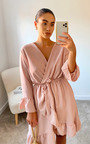Robyn Wrap Mini Dress Thumbnail