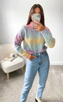 Rochelle High Neck Knitted Jumper Thumbnail