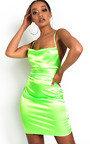 Roisin Satin Backless Mini Dress Thumbnail