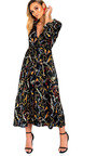 Rose Belted Shirt Maxi Dress Thumbnail