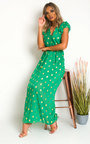 Rosi Polka Dot Maxi Dress Thumbnail