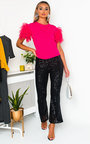 Rosie Sequin Flare Trousers  Thumbnail
