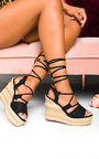 Rosina Tie Braided Wedges Thumbnail