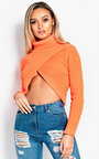 Rosy Knitted Open Front Jumper Thumbnail