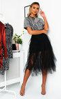 Roxi Tulle Sequin Midi Dress Thumbnail