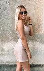 Roxy Glitter Mini Bodycon Dress Thumbnail