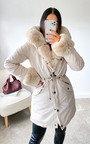 Ruby Faux Fur Padded Jacket Thumbnail