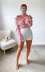 Ruby Floral Off Shoulder Top Thumbnail