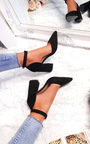 Ruby Pointed Buckle Heels  Thumbnail