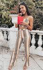 Ruby Stripe Crop Top Co-Ord Thumbnail