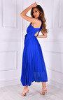 Ryanna Pleated Crossover Maxi Dress Thumbnail