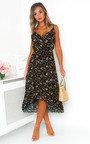 Saara Ditsy Print Maxi Dress Thumbnail