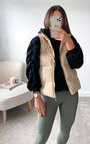 Sabrina Short Style Padded Gilet Thumbnail