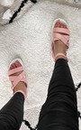 Sabrina Strappy Buckle Sandals Thumbnail