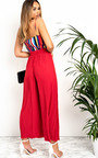 Sabrine Ribbed Wide Leg Trousers Thumbnail