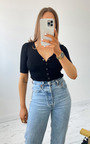 Saint Button Up Knitted Bodysuit Thumbnail