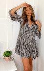 Sam Printed Smock Dress Thumbnail