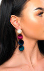 Sam Statement Drop Earrings  Thumbnail