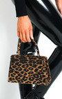 Sandy Leopard Print Handbag Thumbnail