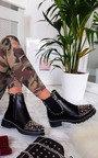 Sasha Studded Ankle Boots Thumbnail