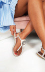 Saskia Jewelled T-Bar Sandals Thumbnail