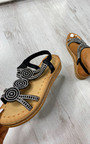 Saskia Sparkle Embellished Sandals Thumbnail