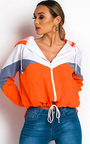 Sav Neon Sports Shell Bomber Jacket Thumbnail