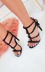 Savina Strappy Pointed High Heels  Thumbnail