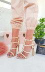 Savina Strappy Pointed High Heels  Thumbnail