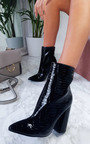 Scarlett Pointed Block Heeled Boots Thumbnail