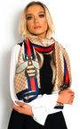 Sehar Silky Printed Scarf Thumbnail