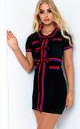 Selena Bow Knit Dress Thumbnail