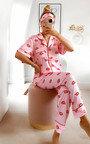 Selena Printed Pyjama Co-ord  Thumbnail