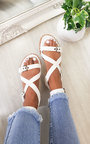 Selina Strappy Buckle Sandals Thumbnail