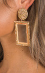 Serena Diamante Drop Earrings  Thumbnail