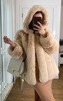 Serena Faux Fur Coat Thumbnail