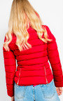 Serena Padded Faux Fur Jacket Thumbnail
