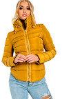 Serena Padded Faux Fur Jacket Thumbnail