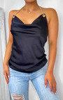 Serena Satin Chain Strap Cami Top Thumbnail