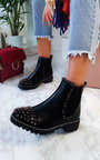 Serina Studded Ankle Boots Thumbnail