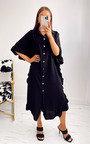 Shaya Ruffled Maxi Shirt Dress Thumbnail