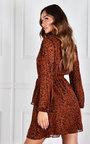Sheila Tiered V Neck Mini Dress Thumbnail