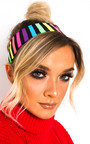 Sia Multi Stripe Headband Thumbnail