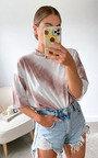 Sia Oversized Tie Dye Top Thumbnail