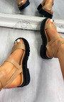Sia Strappy Sandals  Thumbnail