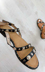 Sia Strappy Studded Sandals Thumbnail
