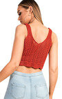 Skye Knitted Crop Top Thumbnail