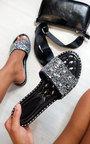 Sofie Embellished Slip On Sandals Thumbnail